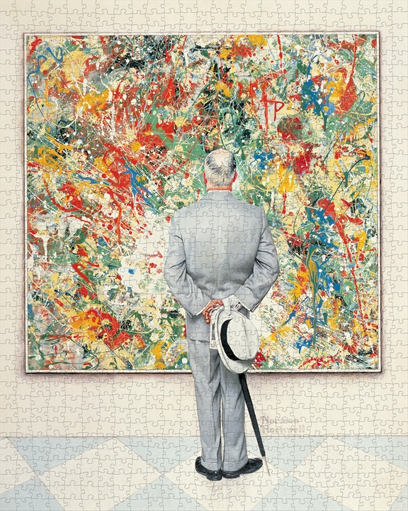 Norman Rockwell: The Connoisseur 1000-piece Jigsaw Puzzle