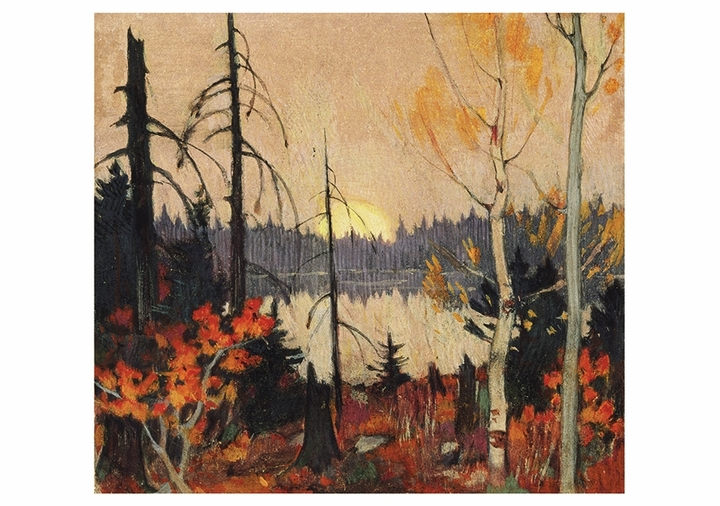 Clarence Gagnon: Northern Land Notecard