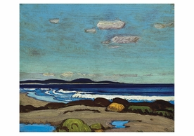 J.E.H. MacDonald: Nova Scotian Shore Postcard