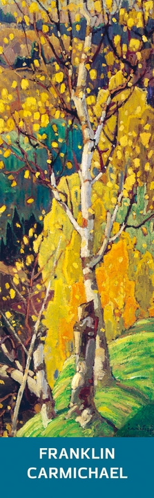 Franklin Carmichael: October Gold Bookmark