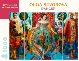 Olga Suvorova: Dancer 1000-Piece Jigsaw Puzzle