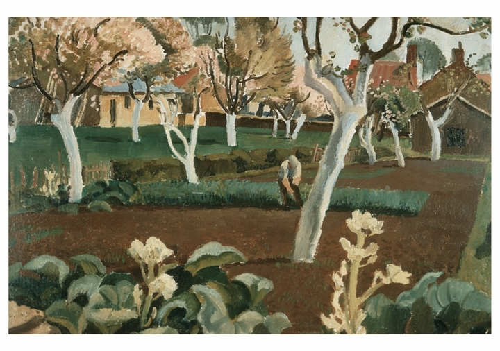 Orchard in Spring Notecard