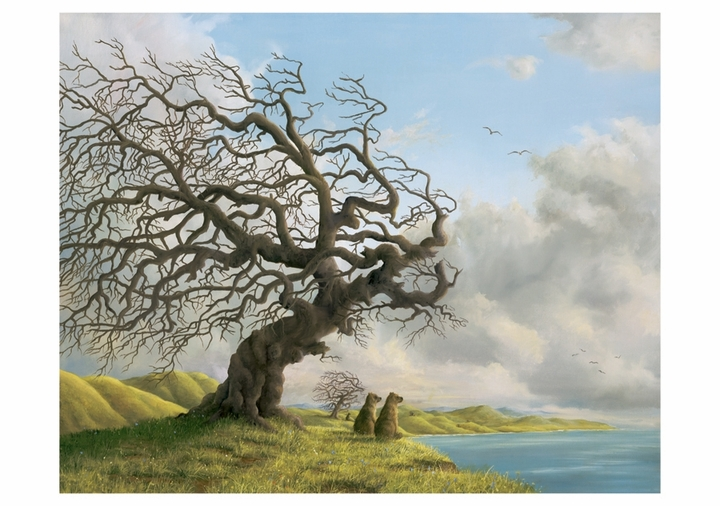 Robert Bissell: Overlook Notecard