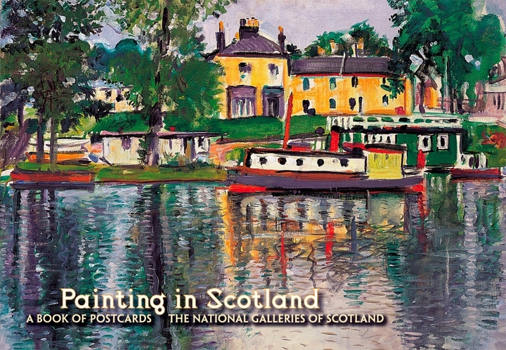 Painting In Scotland Book of Postcards