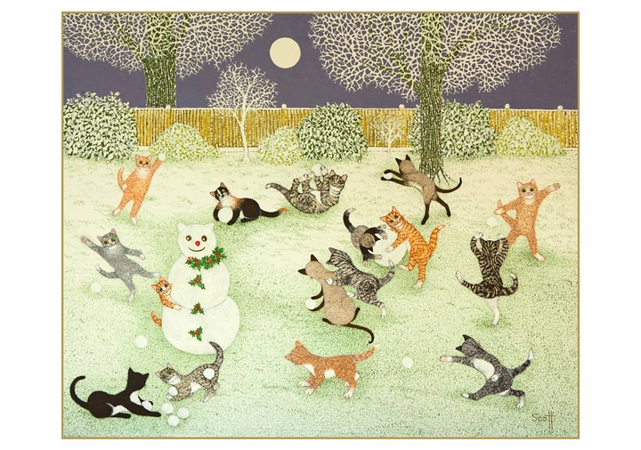 Pat Scott: Festive Cats Holiday Card Assortment