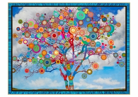 Paul Heussenstamm: Peace Tree Holiday Cards