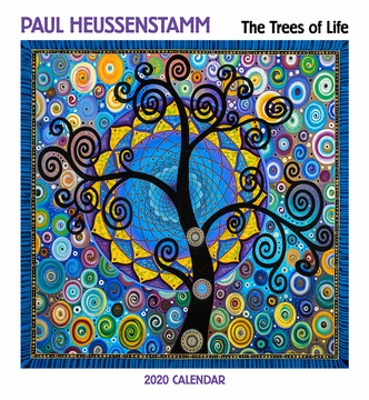 Paul Heussenstamm: The Trees of Life 2020 Wall Calendar
