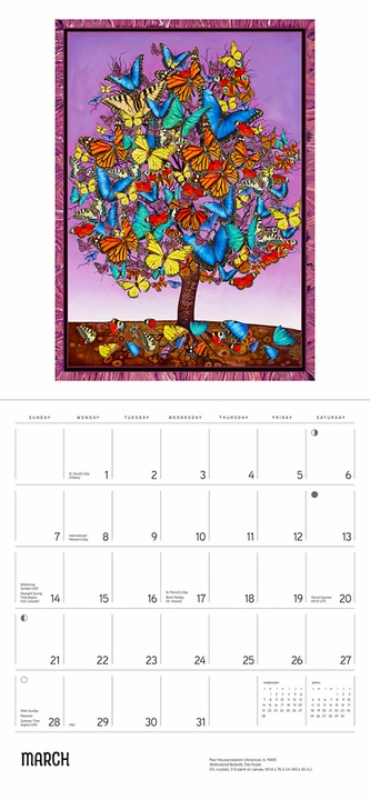 Paul Heussenstamm: The Trees of Life 2021 Wall Calendar