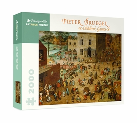 Pieter Bruegel: Children's Games 2000-Piece Jigsaw Puzzle