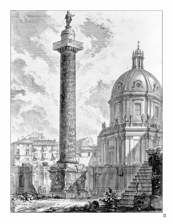 Piranesi's Views of Rome Colouring Book