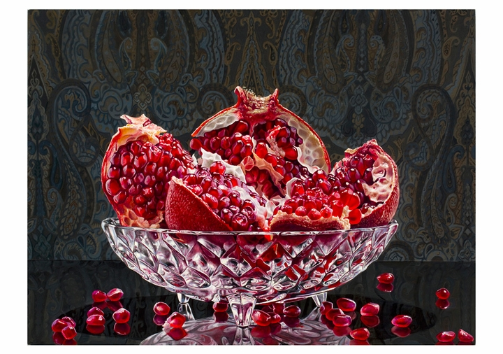 Eric Wert: Pomegranate Notecard
