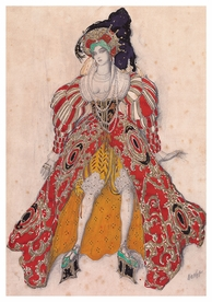 Léon Bakst: Costume Design for Potiphar's Wife Postcard