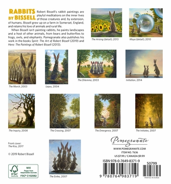 Rabbits by Bissell 2020 Mini Wall Calendar