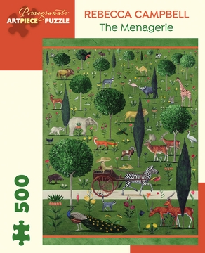 Rebecca Campbell: The Menagerie 500-Piece Jigsaw Puzzle