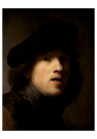 Rembrandt van Rijn: Self-Portrait Notecard