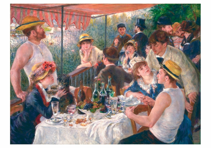Renoir: Luncheon of the Boating Party Notecard