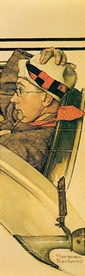 Norman Rockwell: Ride in a Rumbleseat Bookmark