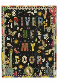 Tony Fitzpatrick: River Be My Door Notecard