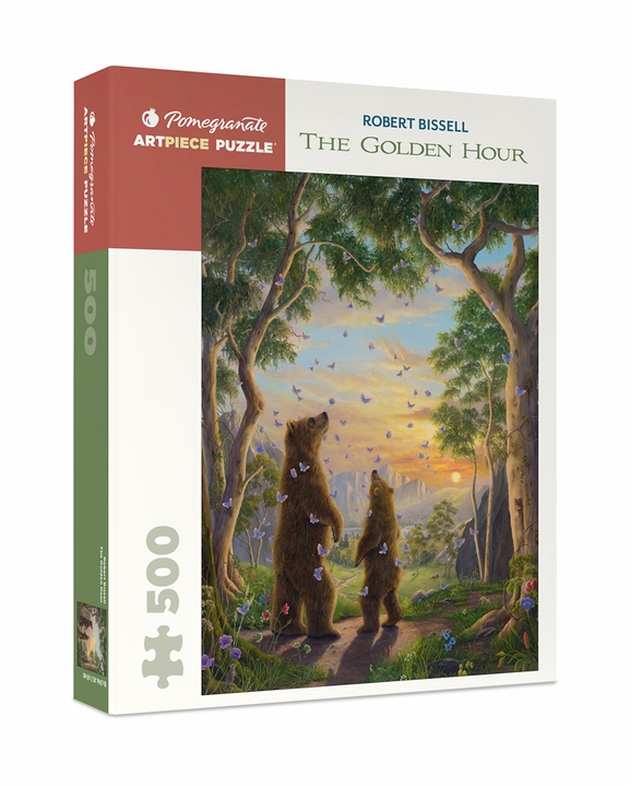 Robert Bissell: The Golden Hour 500-Piece Jigsaw Puzzle