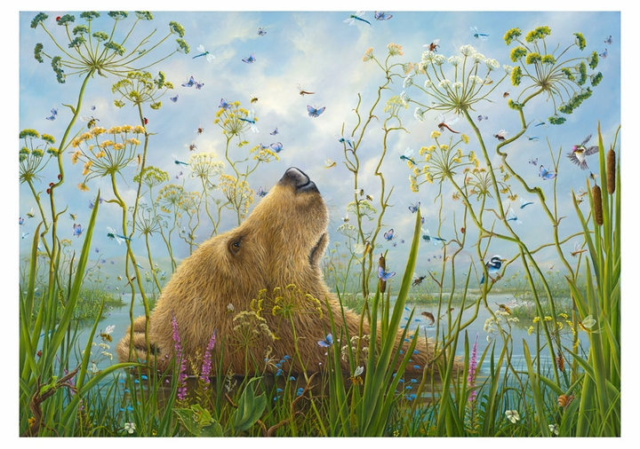 Robert Bissell: The Whole World Birthday Card