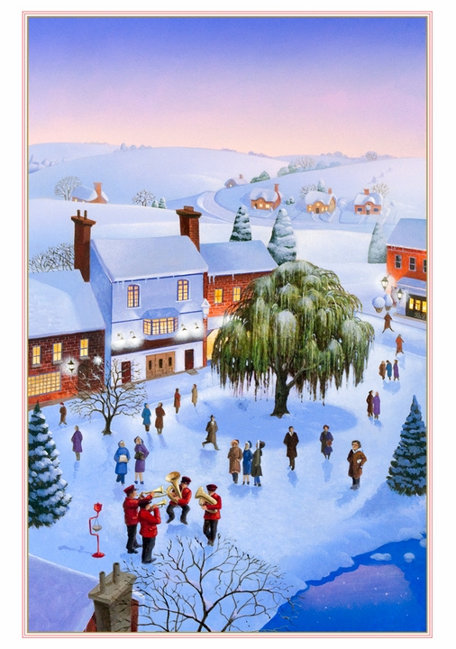 Robert Crawford: Christmas in the Country Holiday Cards