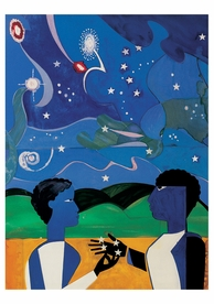 Romare Bearden: Two Worlds Birthday Card