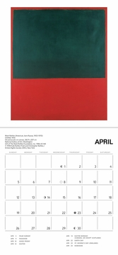 Rothko 2020 Mini Wall Calendar