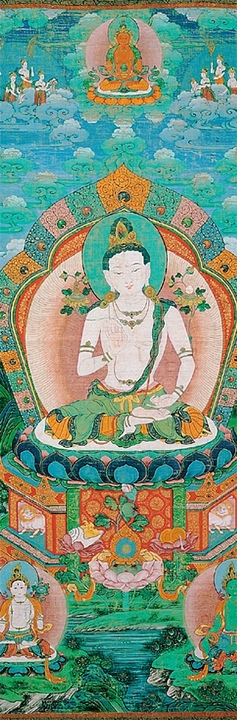 Samantabhadra Thangka Bookmark