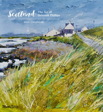 Scotland: The Art of Deborah Phillips 2020 Wall Calendar