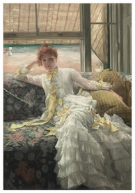 Jacques-Joseph Tissot: Seaside Notecard