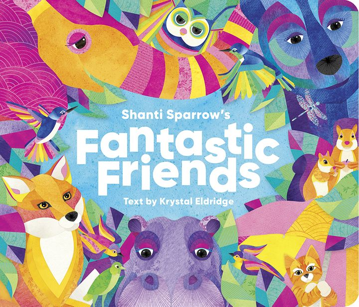 Shanti Sparrow's Fantastic Friends