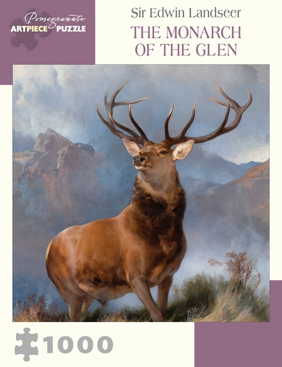 Sir Edwin Landseer: The Monarch of the Glen 1000-Piece Jigsaw Puzzle