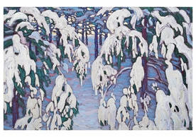 Lawren S. Harris: Snow Fantasy Notecard