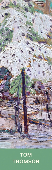 Snow in the Woods Bookmark