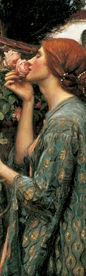 John William Waterhouse: The Soul of the Rose Bookmark