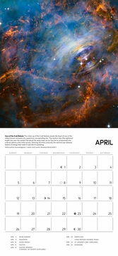 Space: Views from Hubble Telescope 2020 Mini Wall Calendar