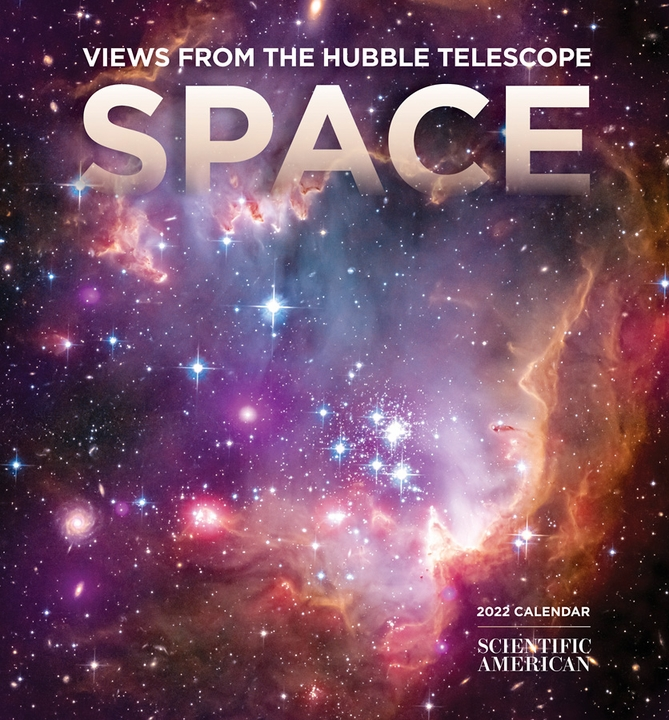 Space: Views from the Hubble Telescope 2022 Mini Wall Calendar