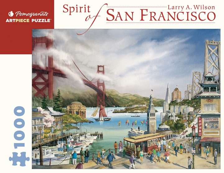 Larry A. Wilson: Spirit of San Francisco 1000-Piece Jigsaw Puzzle