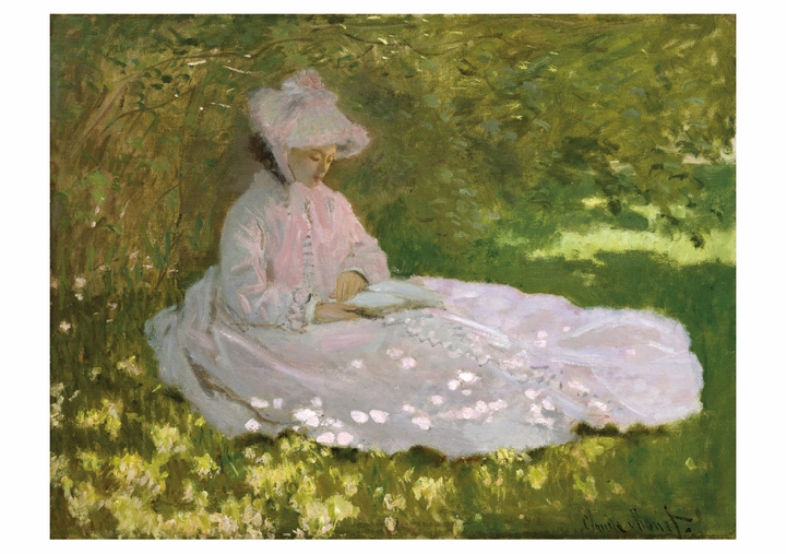 Claude Monet: Springtime Notecard