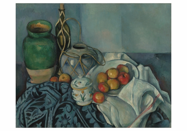 Paul Cézanne: Still Life with Apples Notecard