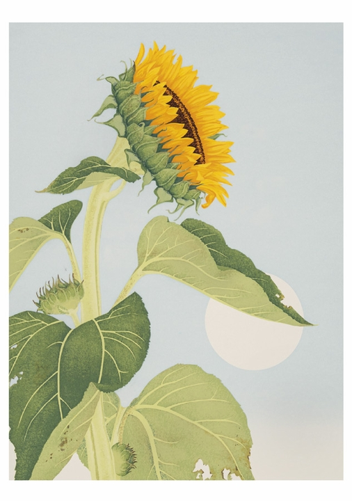 Sunflower Notecard