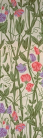 William Morris: Sweet Pea Pattern Bookmark