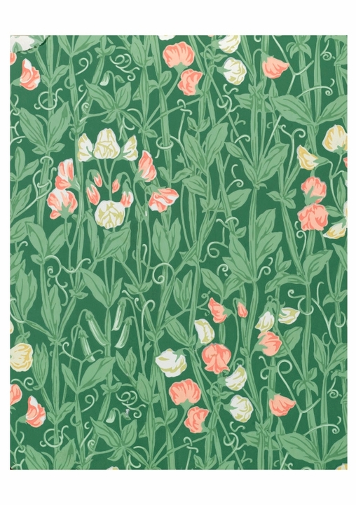 William Morris: Sweetpea Pattern Birthday Card