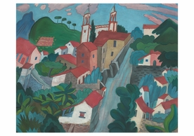 Tasco or Taxco Notecard
