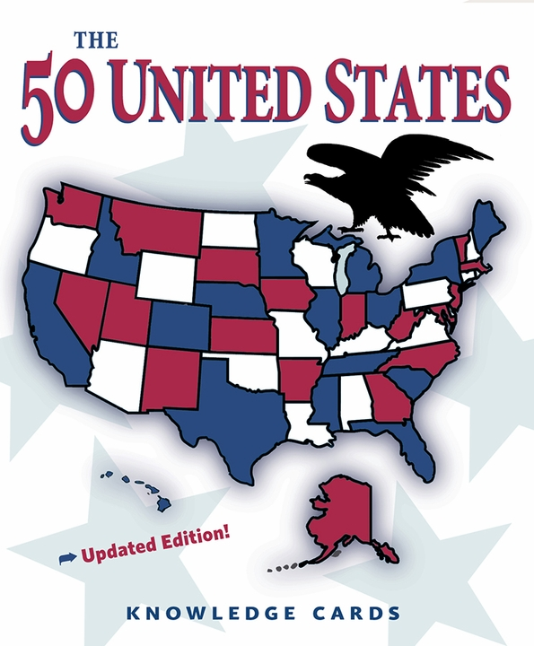 The 50 United States Knowledge Cards