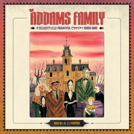 The Addams Family: A Delightfully Frightful Creepy Board Game