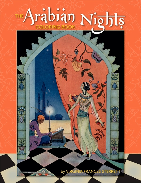 The Arabian Nights Coloring Book