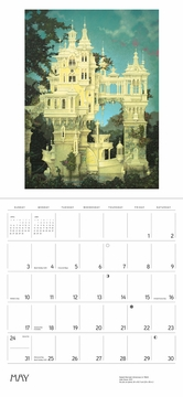 The Art of Daniel Merriam 2020 Wall Calendar