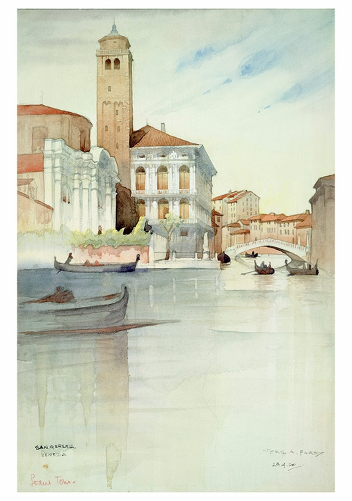 The Artist's Italy Boxed Notecards