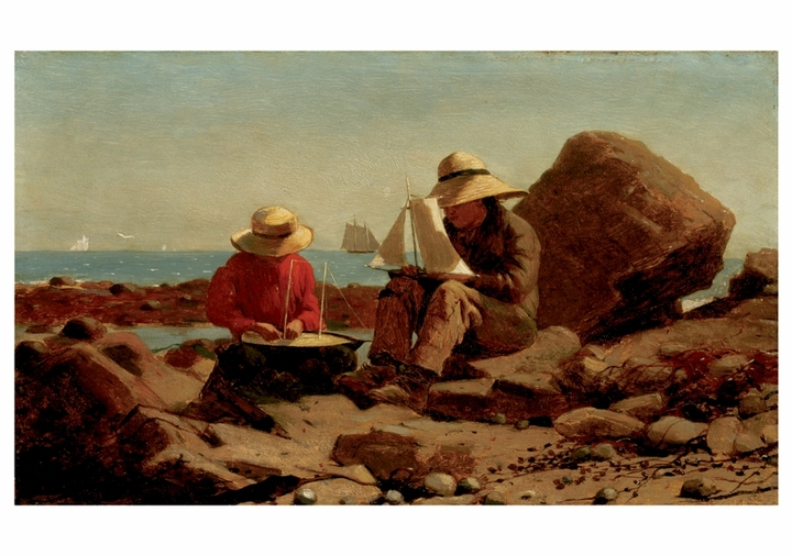 Winslow Homer: The Boat Builders Notecard